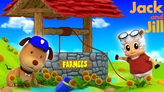 Jack And Jill | Video For Toddlers | Songs For Children by Farmees