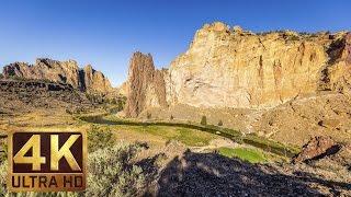 Smith Rock State Park, Oregon - 4K Nature Documentary Film   Virtual Tour 2017