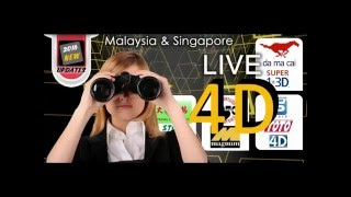 Live 4D Results in Malaysia and Singapore