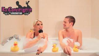 Jeremstar dans le bain d'Amélie Neten - INTERVIEW inversée