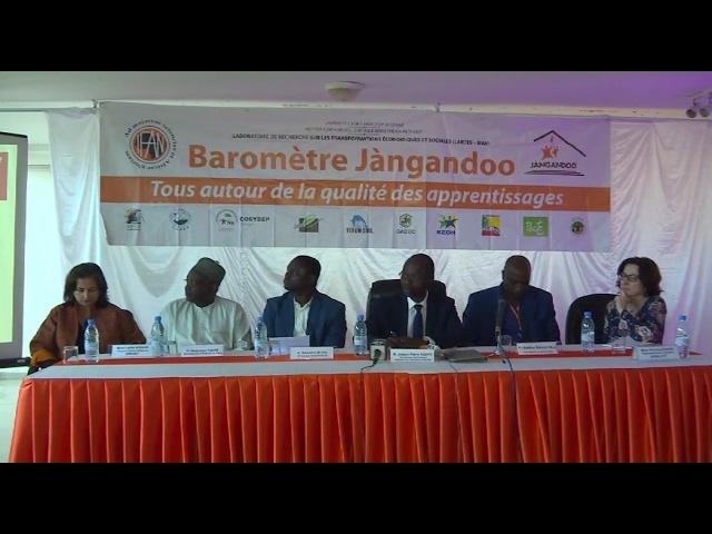Lartes : Présentation des résultats de Jàngandoo