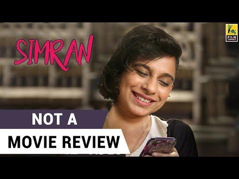 Xxx Mp4 Simran Not A Movie Review Sucharita Tyagi 3gp Sex