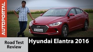 Hyundai Elantra 2016 Test Drive Review - Autoportal
