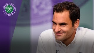 Roger Federer Wimbledon 2017 pre-tournament press conference