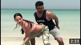 Nora Fatehi Hot Raunchy Dance With Friend On Beach