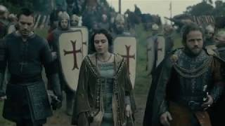 Vikings S05 E02 King Aethelwulf meets Bishop Heahmund