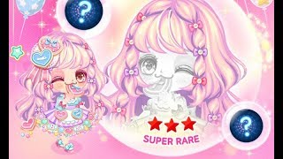LINE Play - White Day Curious Closet (Cookie Time Pink Braided Hair With Bows)