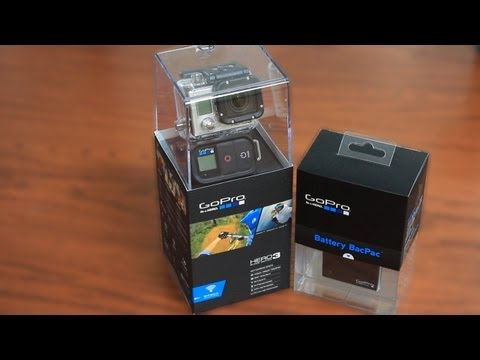 GoPro HERO3 Black Edition unboxing - En français