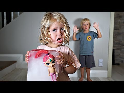 Tydus FROZE RyRy s FAVORITE DOLL in Ice GROUNDED