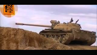 TOW missile fired by Hezbollah barely misses tank in Syria
