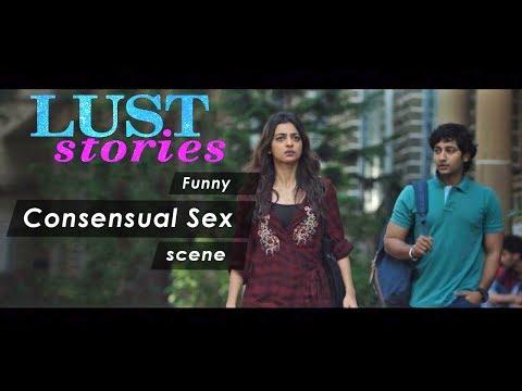 Xxx Mp4 Lust Stories Funny Consensual Sex Scene Radhika Apte Akash Thosar Lust Stories Netflix 3gp Sex