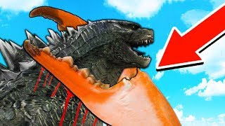 GODZILLA HAS A GIANT CRAB BROTHER?! MONSTER HUNTING - Minecraft