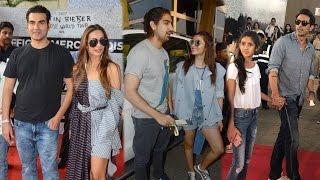 Malaika-Arbaaz, Alia Bhatt, Arjun Rampal at Justin Bieber Concert | SpotboyE