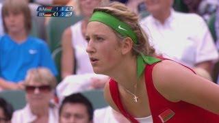 Azarenka  (BLR) v Kerber (GER) Women's Tennis Quarter-Final Replay - London 2012 Olympics