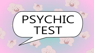Psychic Test - Test Your Psychic Abilities, ESP and Intuition with this Video Test