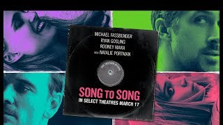 Song to Song Soundtrack list (part 1)