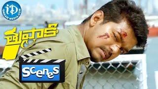Thuppakki Movie - Vijay Fighting With Vidyut Jamwal || Climax Scene || Murugadoss || Harris Jayaraj
