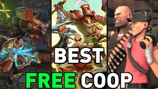 """TOP TEN """"FREE TO PLAY COOP GAMES"""" BEST FREE GAMES FOR FRIENDS! 2017"""