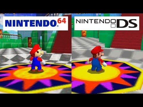 Xxx Mp4 Super Mario 64 Nintendo 64 VS Nintendo DS HD GRAPHICS COMPARISON 3gp Sex