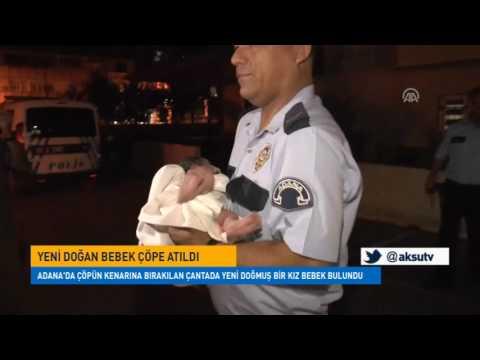 Yeni Doğan Bebek Çöpe Atıldı