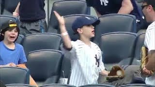 MLB Great Fan Catches