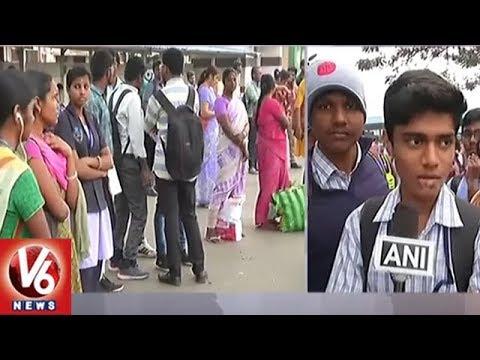 Xxx Mp4 Tamil Nadu Bus Strike Over Wage Hike Leaves Thousands Stranded V6 News 3gp Sex