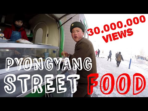 Pyongyang Street Food - North Korea