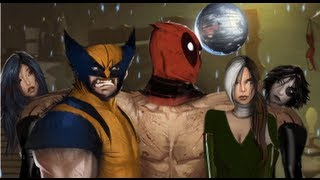Deadpool: The Game - Meeting Mr Sinister, Wolverine, Domino, Psylocke and Rogue for first time