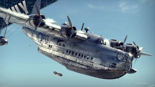 TEABAG TRANSPORT - British Sunderland (War Thunder Plane Gameplay)