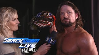 Is AJ Styles the right man for the job of U.S. Champion?: SmackDown LIVE Fallout, July 25, 2017