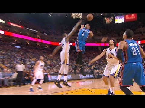 Westbrook with a Thunderous Dunk at Oracle | 01.18.17