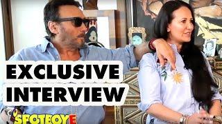 Exclusive Jackie Shroff Interview with wife Ayesha Shroff by Vickey Lalwani | SpotboyE