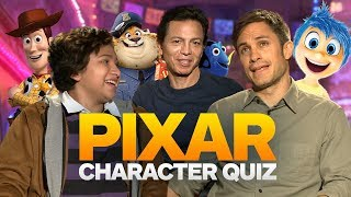 Pixar Character Closeup Quiz With The Cast of Coco