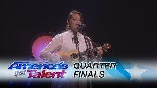 Mandy Harvey: Deaf Singer Performs Original,