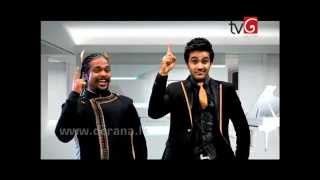 Lahiru Perera (La Signore) - Rambari (2nd VERSION/REMIX) at Derana Music Video Awards 2014