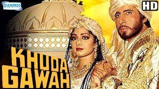 Khuda Gawah (HD) Hindi Full Movie in 15mins  - Amitabh Bachchan - Sridevi - Danny Denzongpa