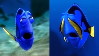 Finding Dory Golden Globes Snub : Should Dory Have Been Nominated? Disney Pixar 2017 Zootopia Moana