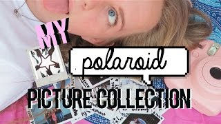 My polaroid picture collection!