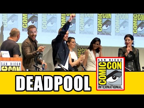 Deadpool Comic Con Panel - Ryan Reynolds, T.J. Miller, Morena Baccarin, Gina Carano, Ed Skrein