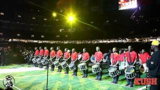 Battle Of the bands 2012 Drum Line round 1- SOUTHERN VS GRAMBLING