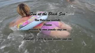 DAK Amputee Pamela Fun at the Black Sea Video