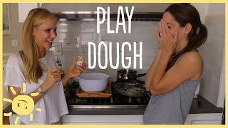 DIY   Perfect Homemade Play Dough Recipe