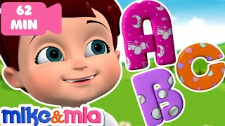 The Phonics Song   Phonics Sounds of Alphabets   Nursery Rhymes and Songs Collection by Mike and Mia
