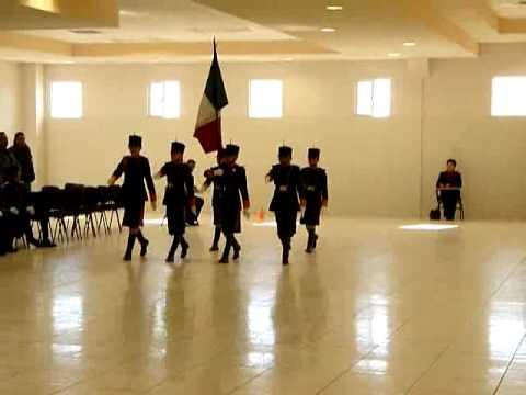 ESCOLTA No.1 CONCURSO REGIONAL DE ESCOLTAS 2010 Región Centro Sur de Chihuahua.avi