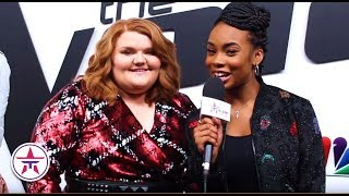 The Voice: Kennedy Holmes + MaKenzie Thomas Are READY For Voice Top 4