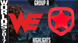 Team WE vs Gambit Esports Highlights S7 Worlds 2017 Play in Group B LoL World Championship WE vs GMB