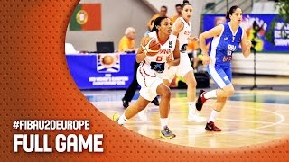 Spain v Bosnia and Herzegovina - Full Game - FIBA U20 Women's European Championship 2016