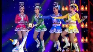 Stars of Beijing's Circus - Bowls Unicycle act - The world greatest Cabaret