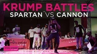 Spartan v Cannon | Krump Battles | Semi Finals | #WODFINALS15
