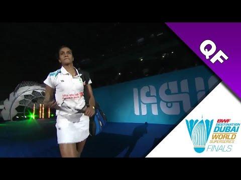 Dubai Superseries Finals 2016   QF   Carolina Marin vs Pusarla V. Sindhu [HD]